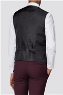Burgundy Plain Slim Fit Suit