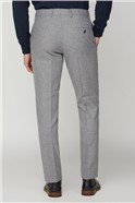 Cool Grey Brushed Texture Waistcoat