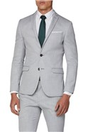 Cool Grey Structure Skinny Fit Suit