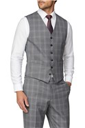 Grey Mulberry Check Regular Fit Suit