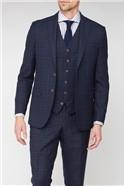Studio Blue Green Jaspe Check Ivy League Waistcoat