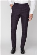 Stvdio Mulberry Check Ivy League Trouser