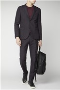 Studio Mulberry Scratch Texture Super Skinny Brit Trouser