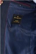 Windowpane Check Regular Fit Suit Jacket