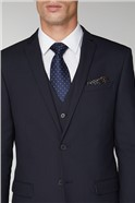 Navy Stretch Slim Fit Suit