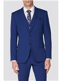 Limehaus Bright Blue Slim Fit Suit