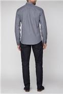 Blue Arrow Gingham Shirt