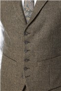 Brown Donegal Tailored Suit