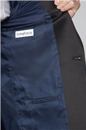 Blue Tonal Paisley Suit