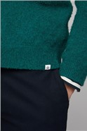 Fryken Green High Break Cardigan