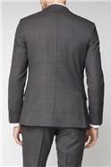 Grey Heritage Check Waistcoat