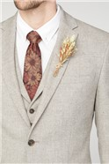 Sand Donegal Tailored Fit Suit