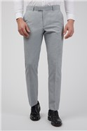 Occasions Light Grey Textured Slim Fit Suit