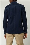 Navy Cord Utility Shirt