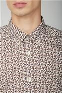 Micro Intricate Paisley Shirt