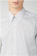 Inverse Spot Print Shirt
