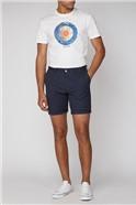 Navy Chino Short
