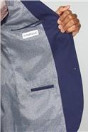 Navy Rust Texture Slim Fit Suit