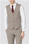 Red Black Puppytooth Slim Fit Suit