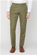 Green Heritage Check Slim Fit Trousers