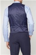 Navy Airforce Texture Travel Waistcoat
