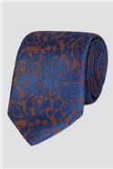 Stvdio by  Burnt Orange Baroque Tie