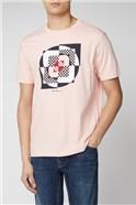 Pink Digital Target Tee