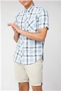 Short Sleeve Large Check Shirt