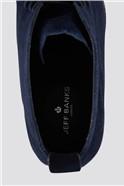 Navy Suede Chukka Boot