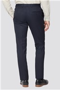 Navy Texture Two Piece Tailored Suit