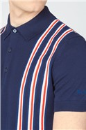 Team GB Union Stripe Knitted Polo