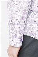 Stvdio Lilac Paisley Print Shirt