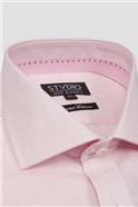 Stvdio by  Light Pink Floral Jacquard Shirt