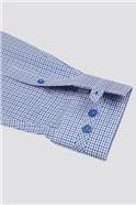 Stvdio Blue Tonal Dobby Shirt