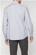Stvdio Grey Dobby Stripe Shirt