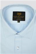 Light Blue Diamond Dobby Shirt