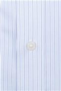 Bespoke Light Blue Textured Stripe Shirt