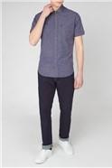 Irregular Yarn Cotton Shirt