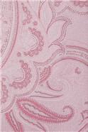 Light Pink Textured Paisley Tie