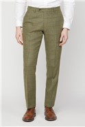 Green Heritage Check Tailored Fit Suit