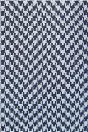 Blue Dogtooth Silk Tie