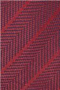 Self Stripe Silk Tie