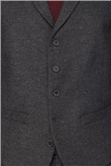 Grey Donegal Slim Fit Waistcoat