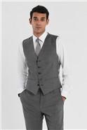 Grey Slim Fit Stretch Suit