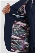 Blue Slim Fit Stretch Suit
