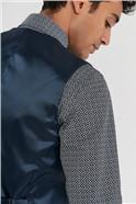 Navy Slim Fit Stretch Suit Waistcoat