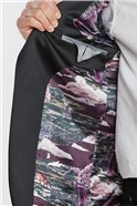Navy Regular Fit Velvet Jacket
