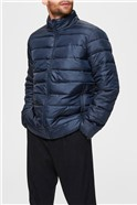 Puffer Jacket in Navy