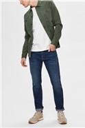 Leon slim Fit Jeans in Light Blue Wash