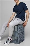 Grey Logo Sweat Pants